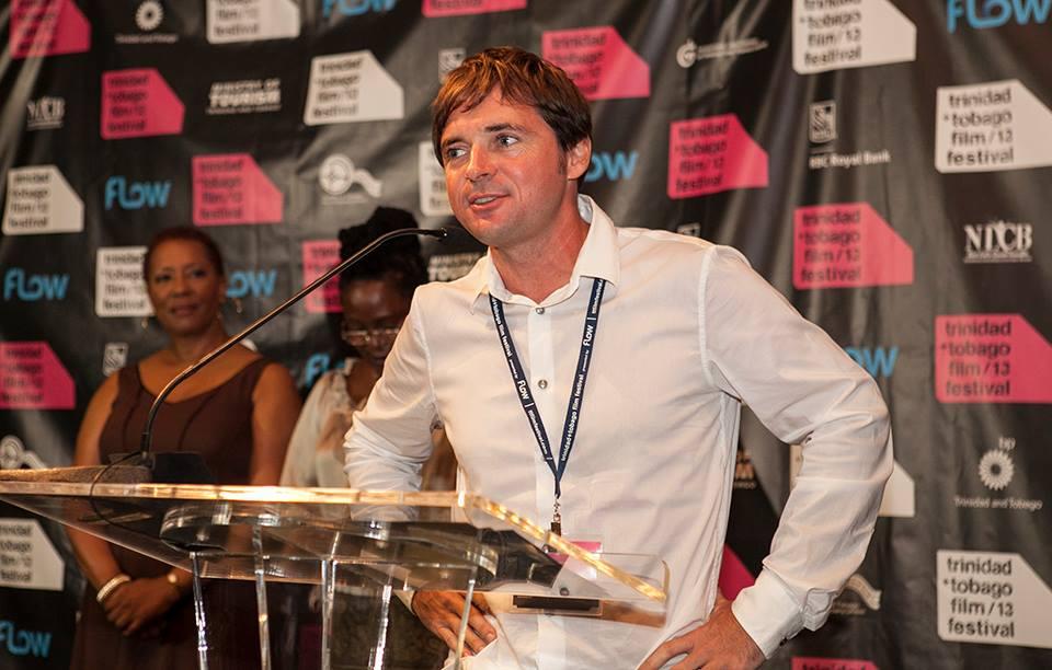 Miquel Galofré at theTrinidad and Tobago Film Festival 2013.